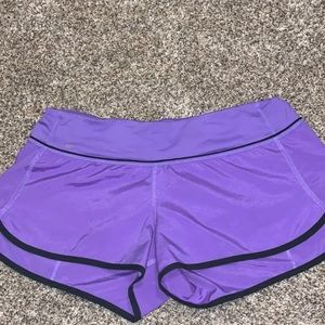 Size 8 lululemon speed up shorts